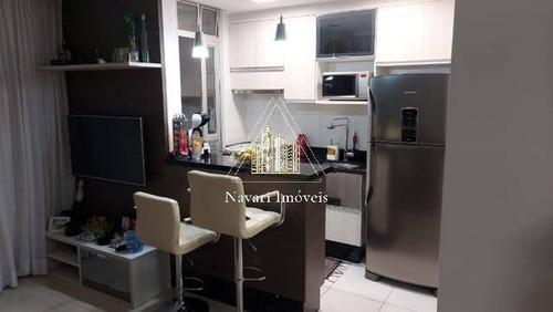 Imagem 1 de 15 de Apartamento Em Guarulhos No Flex Com 60 M² 2 Dorms 1 Vaga Coberta - Ap0800