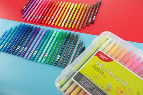 Set 48 Colores Monami Plus Pen 3000