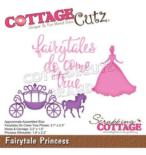 Imagem 1 de 1 de Cottagecutz Dies Fairytale Princess