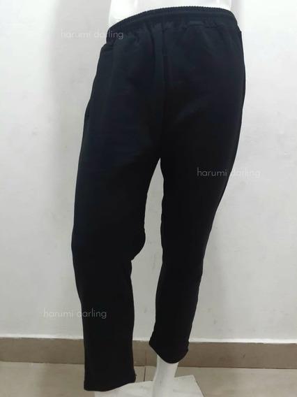 Pack Mayorista X5 Pantalon Hombre - Mujer Algodon Frizado
