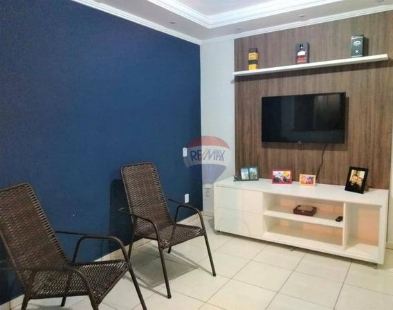 Casa Com 2 Dormitórios À Venda, 100 M² Por R$ 255.000 - Jardim Cambuí - Botucatu/sp - Ca0715