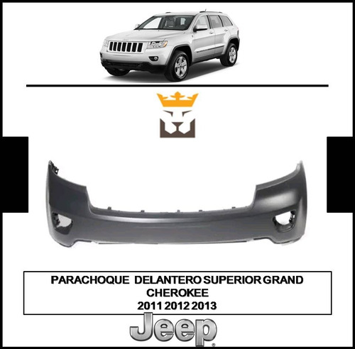 Parachoque Superior Grand Cherokee 2011 2012 2013 (wiper)