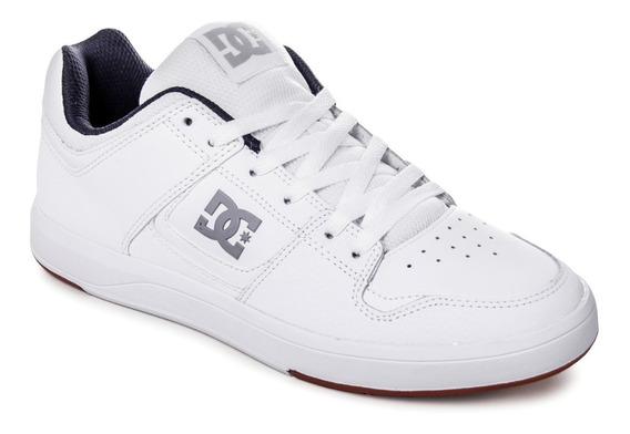 Zapatillas Dc Shoes Cure Skate Urbanas Hombre Cuero