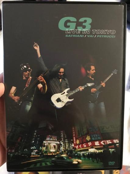 G3 Live Tokyo Satriani Vai Petrucci Perfeito Estado Frete 8,