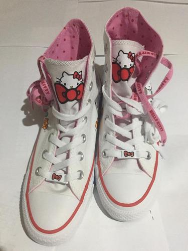e5882c58 Tenis Converse Edición Chuck Taylor Hello Kitty Talla 24