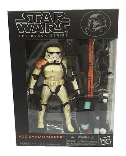 Imagem 1 de 2 de Star Wars The Black Series #03 Sandtrooper