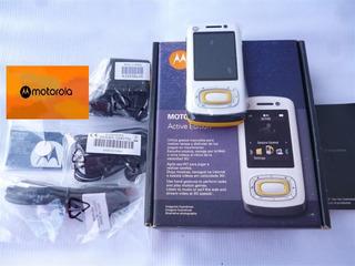 Celular Motorola W7 Active Edition Slider Nuevo De Paquete