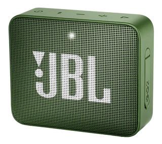 Bocina JBL GO GO 2 portátil inalámbrico Moss green