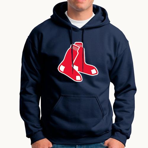 Imagen 1 de 2 de Sudadera Medias Rojas Boston Mlb Red Sox Beisbol