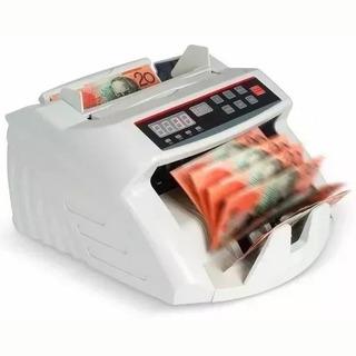 Maquina De Contar Dinheiro Cédulas Detecta Nota Falsa 220v