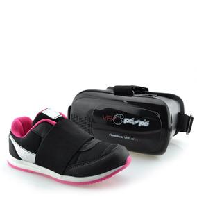 Tênis Pé Com Pé Com Óculos Realidade Virtual Menina 60001