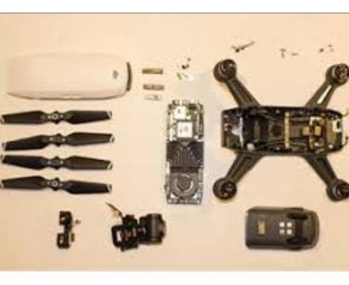 Peças Dji Spark Placa,gimbal,motor,shell,camera,gps,sensores