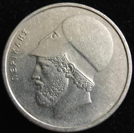 Grecia, 20 Drachmes, 1988. Pericles. Xf+ / Aunc