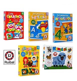 Set X5 Juegos Didácticos Infantiles