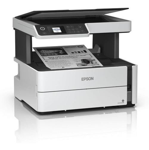 Impressora Multifuncional Epson Ecotank Jato De Tinta Mono W