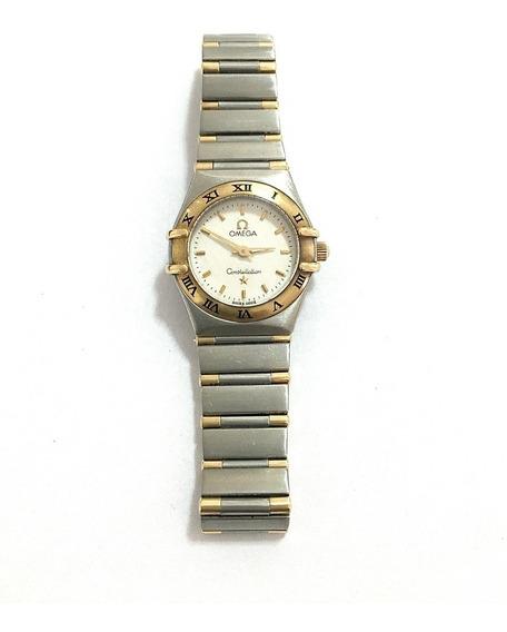 Relógio Omega Constellation Lady De Aço E Ouro 12x Sem Juros