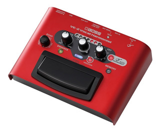 Pedal De Armonía Vocal Boss Ve-2