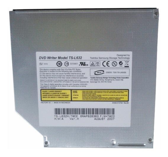 Drive Dvd Notebook Toshiba Mod: Ts-l632 Sata