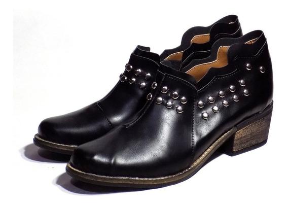 Zapatos De Mujer Botas Texanas Plataforma Livianas 2019