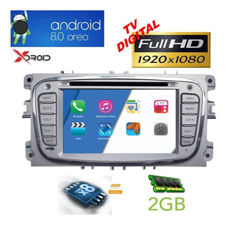 Central Multimida Ford Focus 09 A 12 Android 8 Waze Netflix