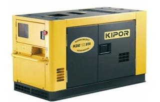 Generador Diesel 10 Kva Trif. Kipor Grupo Electrógeno Cabina
