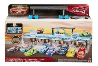 Cars Disney Pixar Pista Valija Lanzador Extremo