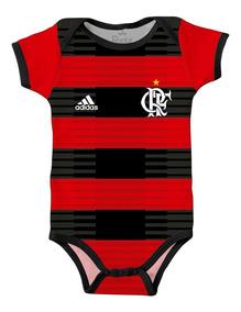 Body Flamengo Bebê Futebol Infantil Personalizado C/ Nome