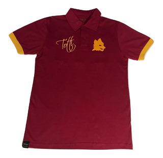 Camisa Em Homenagem Ao Ídolo Da Roma - Totti