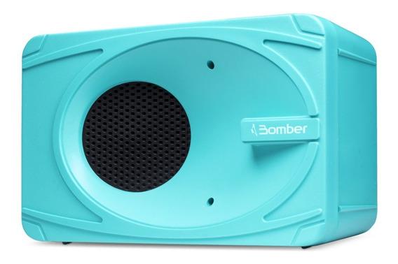 Caixa Festa Som Bluetooth My Bomber Nova 5w Rms Turquesa Bt