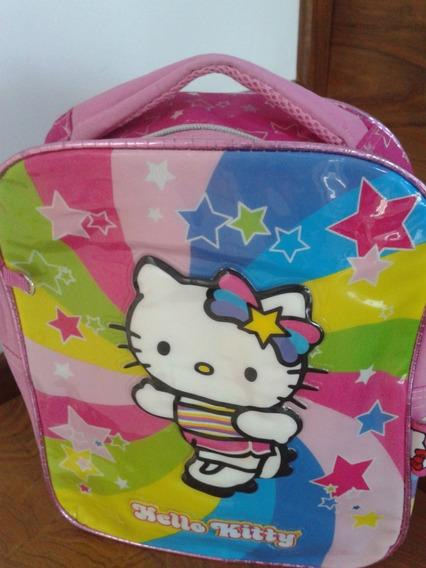 Mochila Nena Hello Kitty