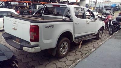Sucata S10 Lt 2.8 4x4 Diesel 2014 Retirada De Peças