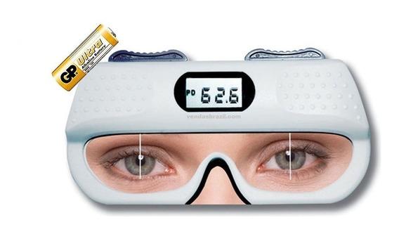 Pupilometro Digital He710 Optometria Dp E Dnp Com Bateria