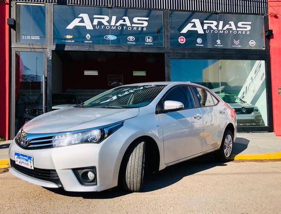 Toyota Corolla Xei 2017 44.000km Impecable Financiamos
