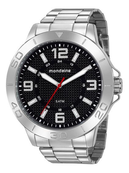 Relógio Masculino Mondaine Prata 76756g0mvne1