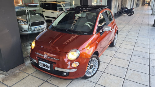 Fiat 500 2012 Lounge 65000 Km Impecable Permuto