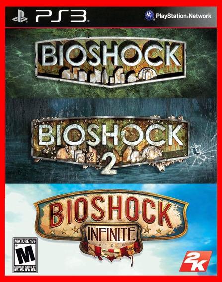 Bioshock Trilogy - Bioshock 1, 2 E Infinity Ps3 Psn