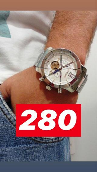 Relógio Prata 2 Modelos Diferentes