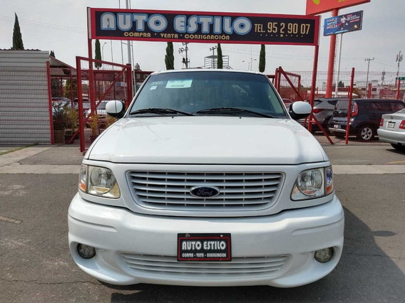 Ford Ligthning Svt 2001 Color Blanco 8cilindros