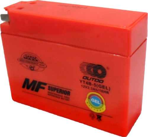 Bateria Gel 2.3 Ah Suzuki Adress - Cj50 - Juguetes