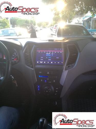 Imagen 1 de 1 de Radio Gps Wifi  Android Hyundai Santa Fe 2013-2014-2015-2016