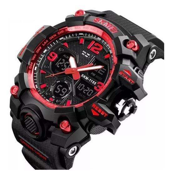 Relógio Masculino Original Skmei 1155 B A Prova D