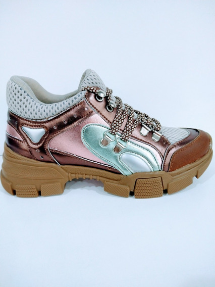 Sneaker Perugia Metalico 60901