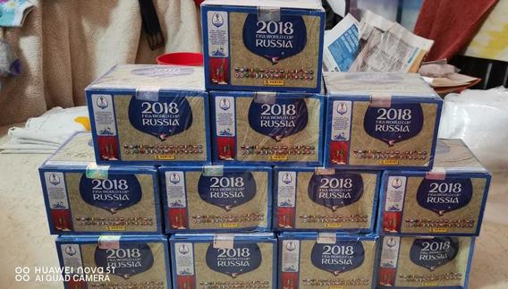 48 Cajas De Estampas Rusia 2018