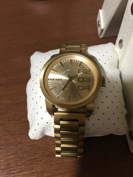 Relógio Diesel Dz 1466 Dourado , Usado Poucas Vezes.