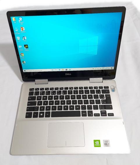 Notebook Gamer I7 10° Geração Dell 2 Em 1 Placa Video Novo