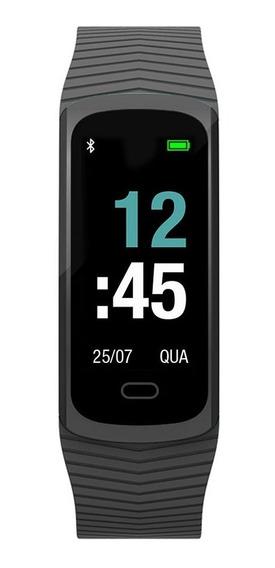 Relógio Mormaii Fitgps Unissex Mob3aa/8p Digital Gps Preto