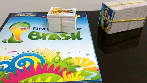 Álbum Da Copa Do Mundo De 2014 Panini Completo+450 Figurinha