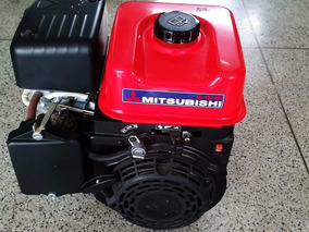 Motor Estacionário À Gasolina 6hp 181cc 4 Tempos Mitsubishi