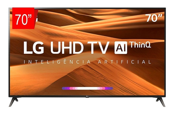Tv Led 70 LG 70um7370 Uhd 4k Thinq Ai, Smart Tv, Webos 4.5,