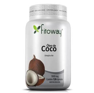 Òleo De Coco Fitoway 1000mg Extraído A Frio 120 Caps